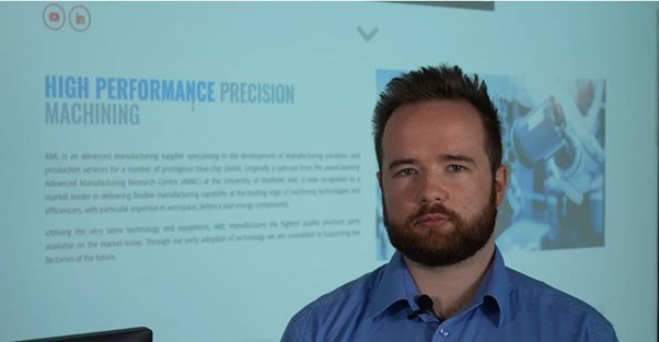 We chat to Liam Wilburn, Research & Development Engineer at AML